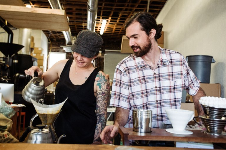 View More: http://kristenpenoyer.pass.us/bold-bean-coffee-cupping