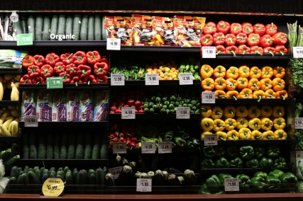 How vegetables should be: Colorful and organic!